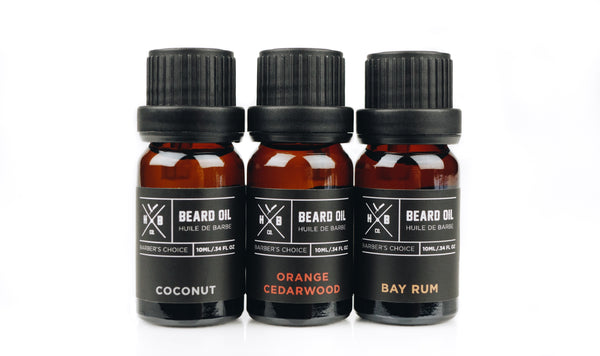HBCo. Travel Size Beard Oil