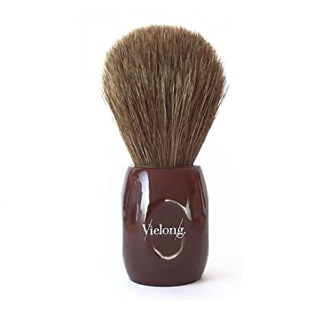 Vie-Long | Peleon Horse Hair Shaving Brush with Red Handle