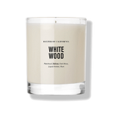 Baxter | White Wood Candle