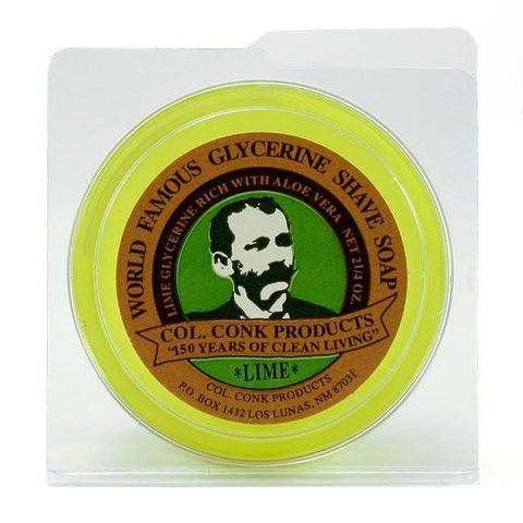 Colonel Conk | LIME Shaving Soap