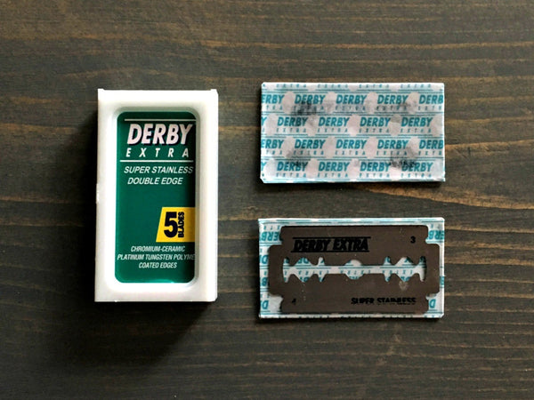 Derby Extra | Double Edge Razor Blades (5 Pack)