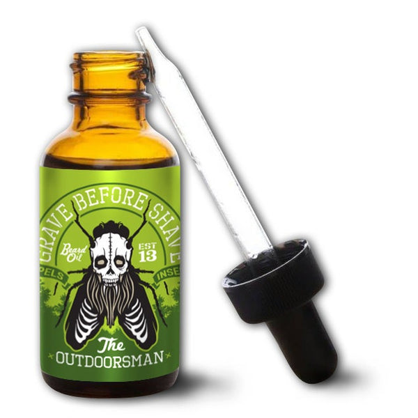 Grave Before Shave | The Ourdoorsman Beard Oil