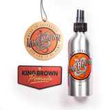 King Brown Pomade | Air Freshener 3-pk