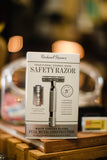 Rockwell Razors | 2C Adjustable Double Edge Safety Razor in White Chrome