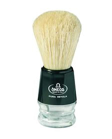 Omega | Boar Bristle Shaving Brush