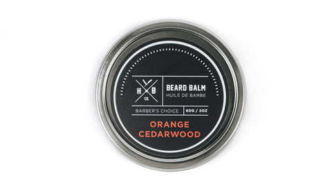 HBCo. | Orange Cedarwood Beard Balm
