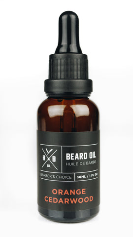 HBCo. | Beard Oil in Orange Cedarwood
