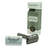 Rockwell Razors | R1 Rookie Safety Razor in GUNMETAL