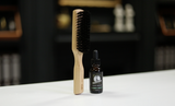 Educated Beards | Boar Brush + Beard Oil in PEPPERMINT & CEDARWOOD