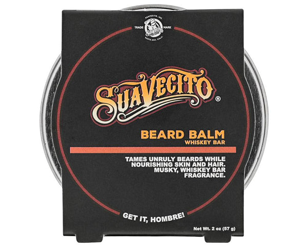 Suavecito | Whiskey Bar Beard Balm