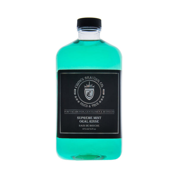 Crown Shaving Co. | Supreme MINT Oral Rinse