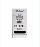 Rockwell Razors | Stainless Steel Tweezer Set