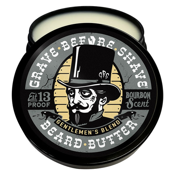 Grave Before Shave | Gentlemen's Blend Bourbon BEARD BUTTER