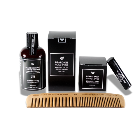 Always Bearded | Beard Kit in Bergamot + Ylang