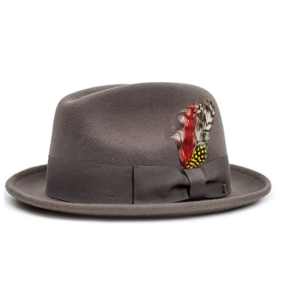 Brixton | JONES II Fedora in GREY
