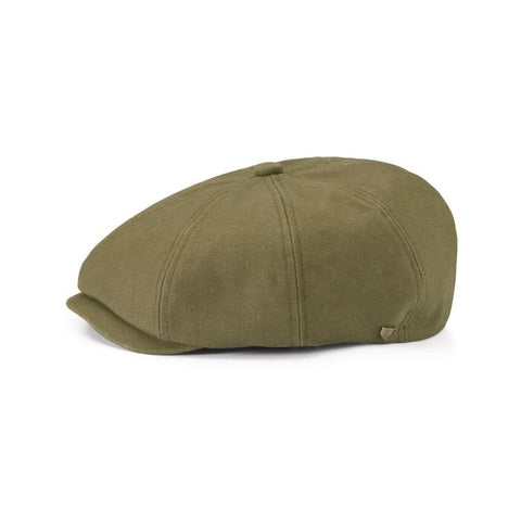 Brixton | Brood Reserve Snap Cap in OLIVE