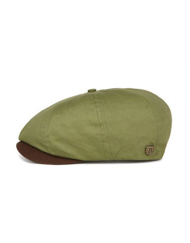 Brixton | BROOD Snap Cap in LIGHT OLIVE/BROWN