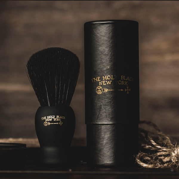 The Holy Black | True Black Shave Brush