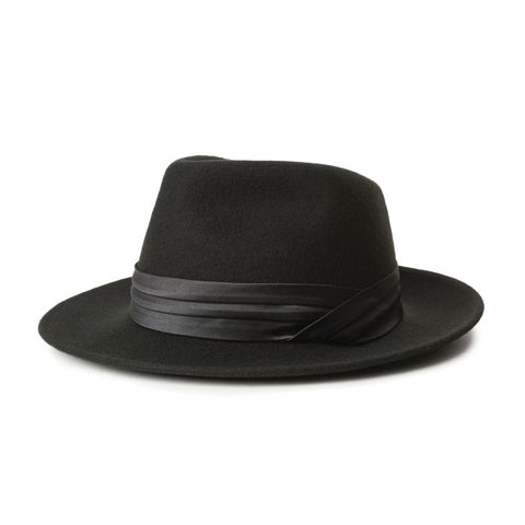 Brixton | GOODMAN Fedora in BLACK