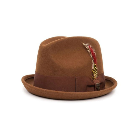 Brixton | GAIN Fedora in COFFEE