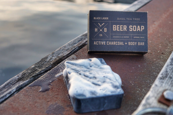 HBCo. Black Lager Beer Soap