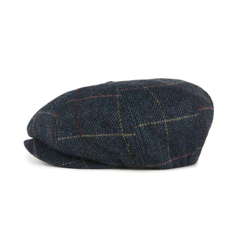 Brixton | BROOD Snap Cap in NAVY PLAID