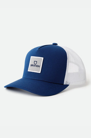 BRIXTON | Alpha Block Crossover MP Mesh Navy/White Trucker