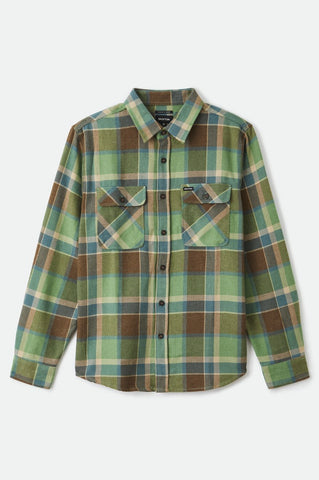 BRIXTON | Bowery Flannel in Toffee