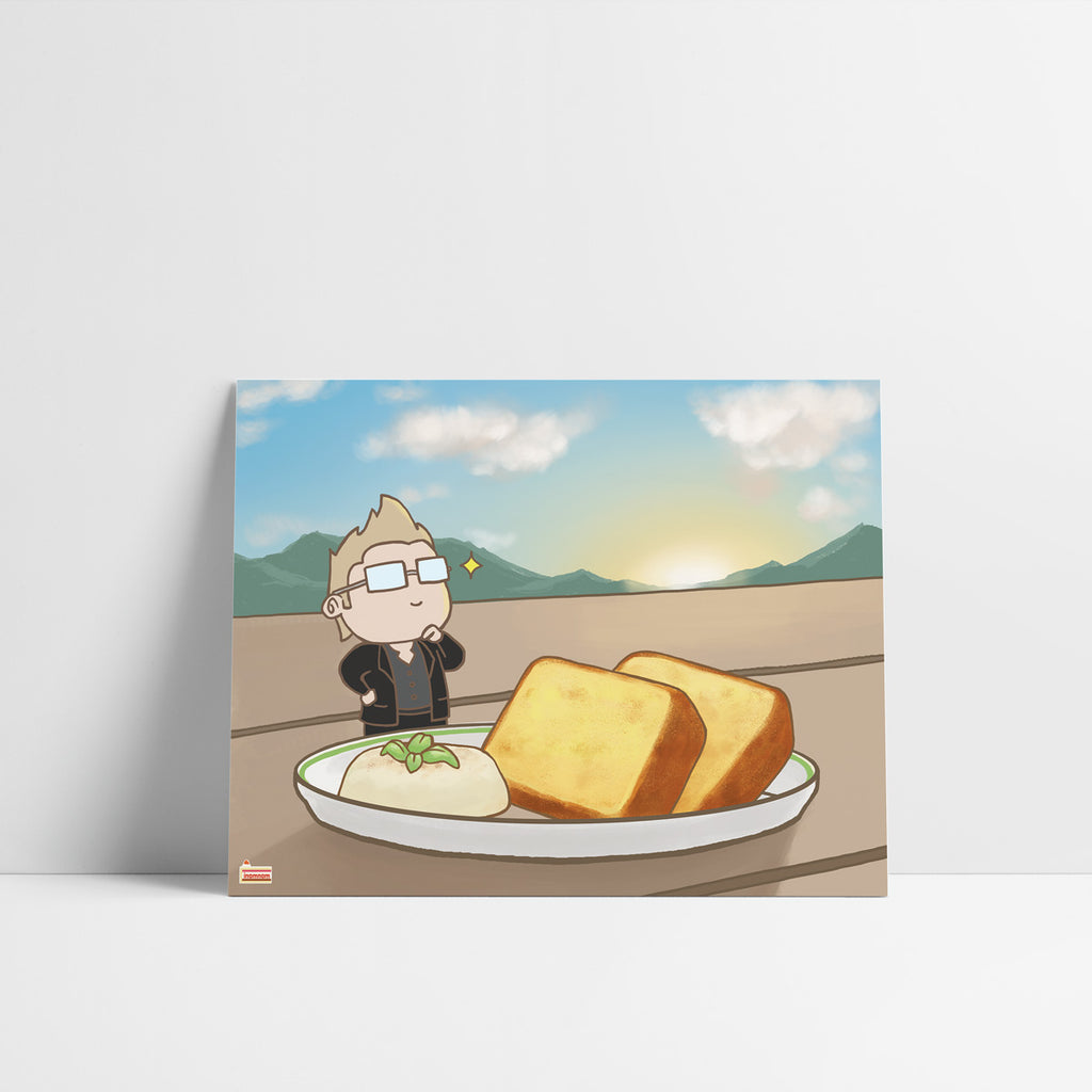 FFXV Final Fantasy Food set Ignis art print