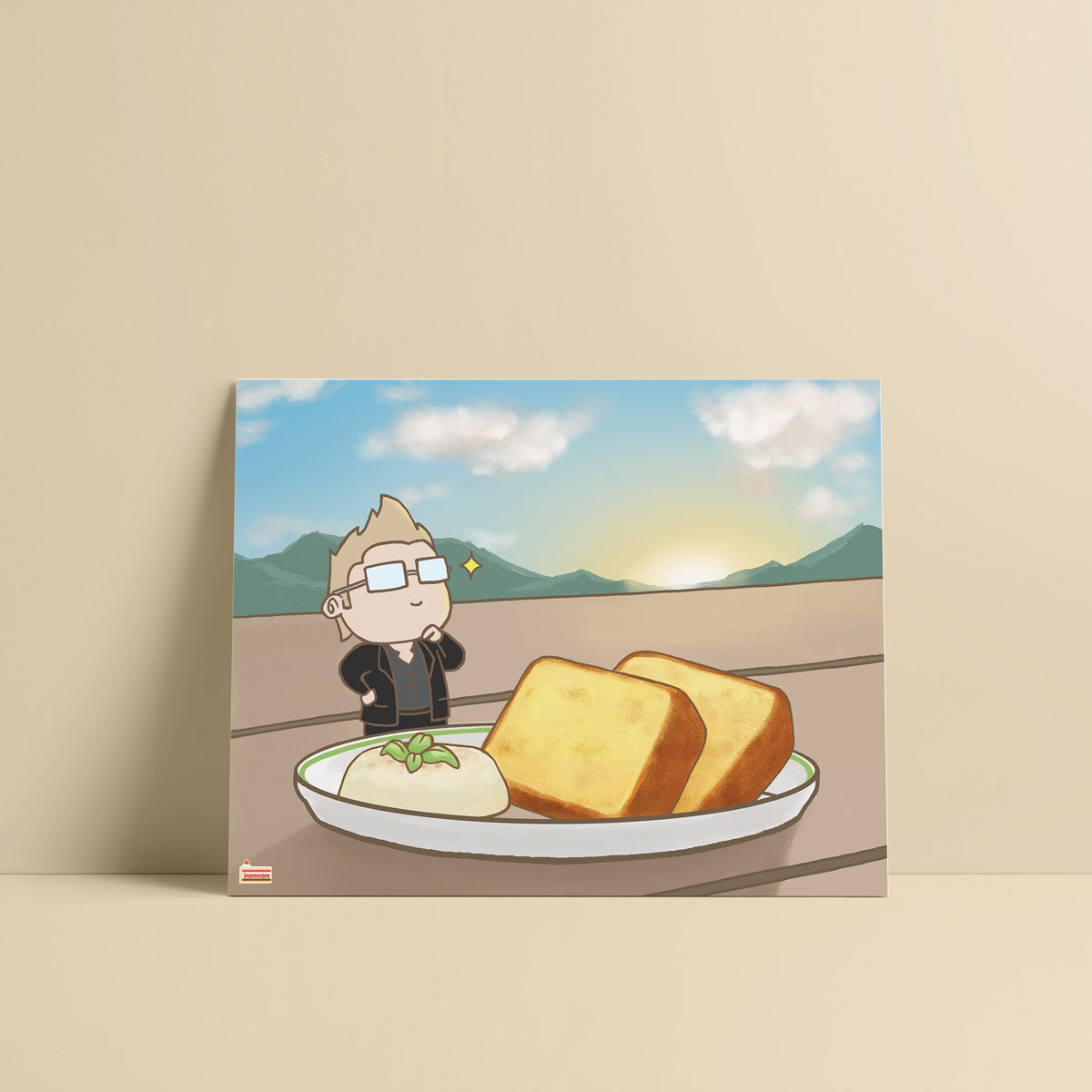 FFXV Final Fantasy Food Ignis Scientia art print
