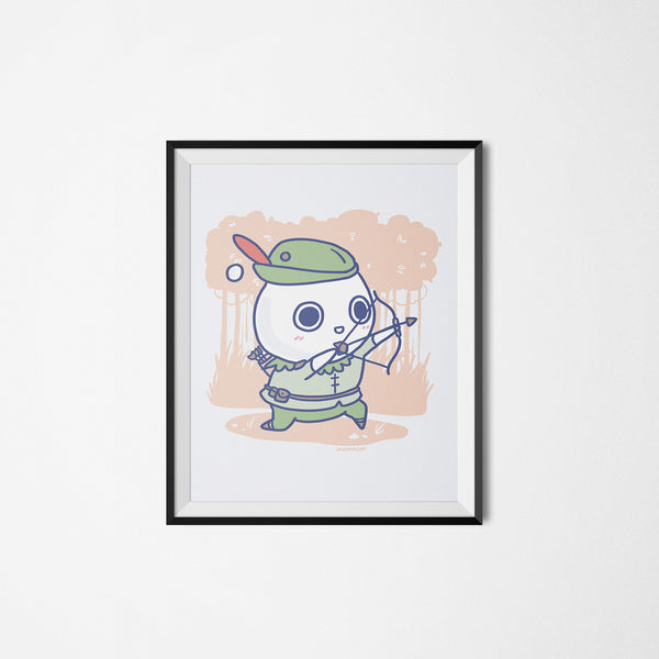 Milk-kun RPG series: Ranger Art Print
