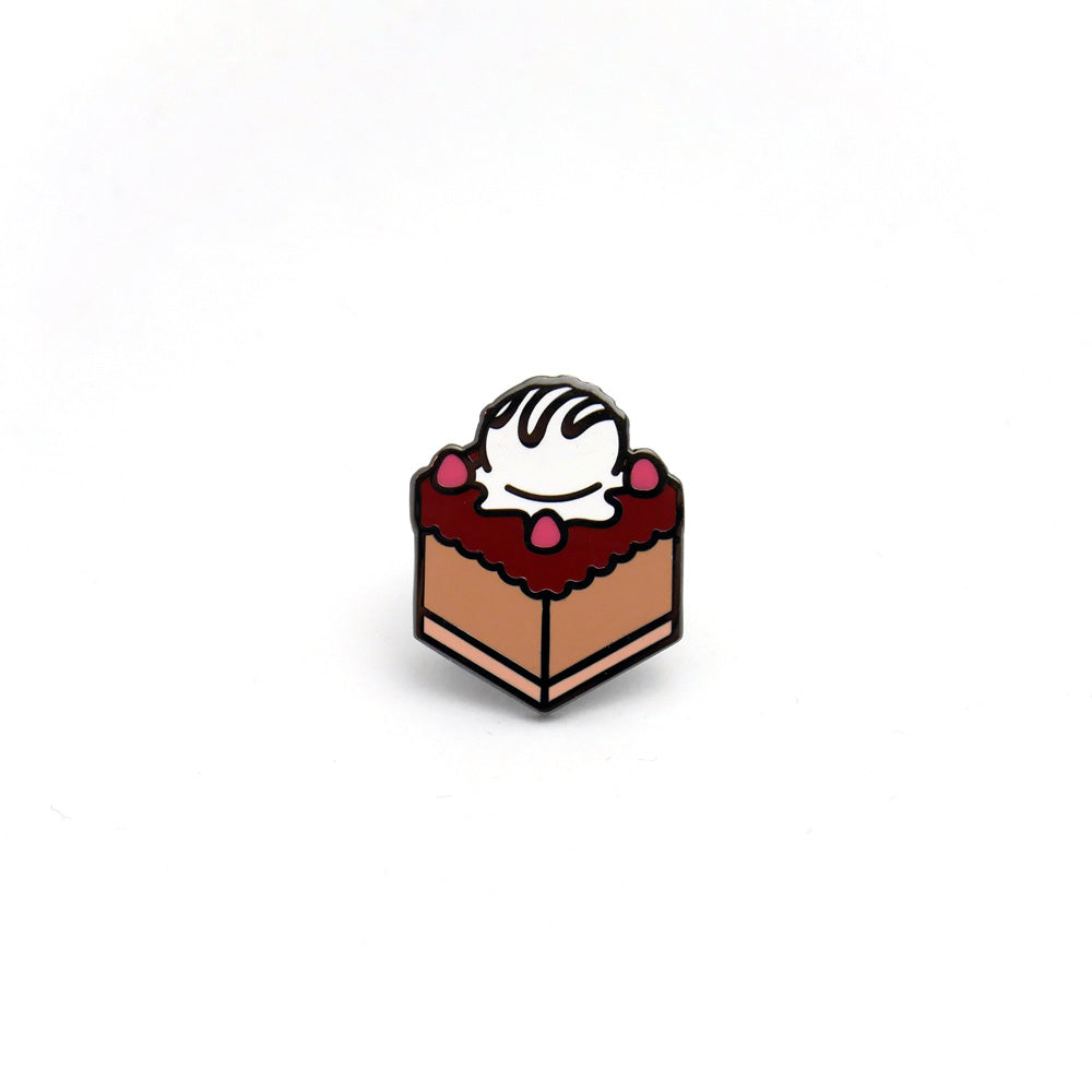 Choco Ice-Cream Cake Enamel Pin