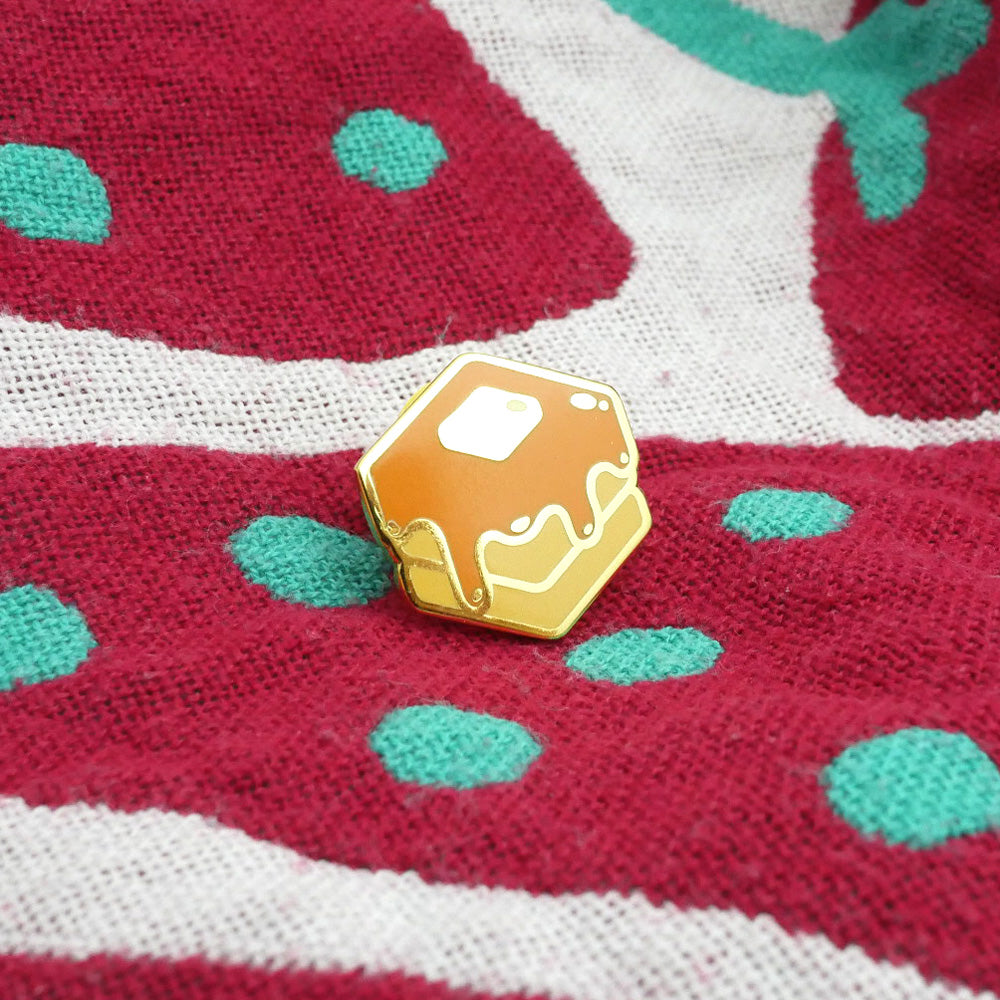 Mini Pancake Enamel Pin