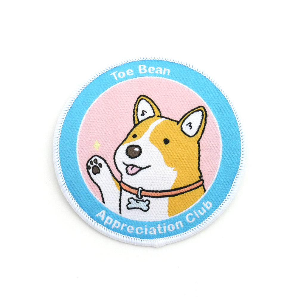 Toe Bean Appreciation Club: Dog Edition Iron-On Patch