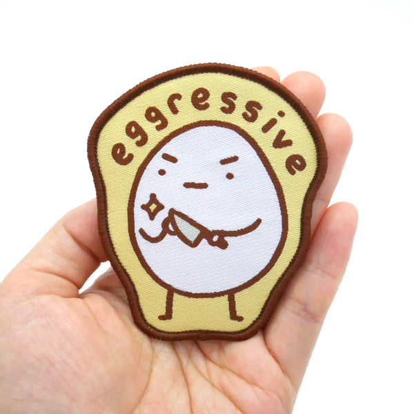 Eggressive Iron-on Patch