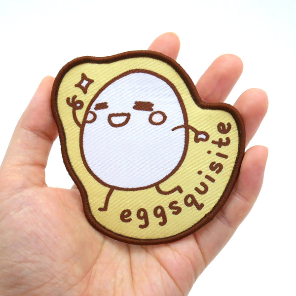 Eggsquisite Iron-on Patch