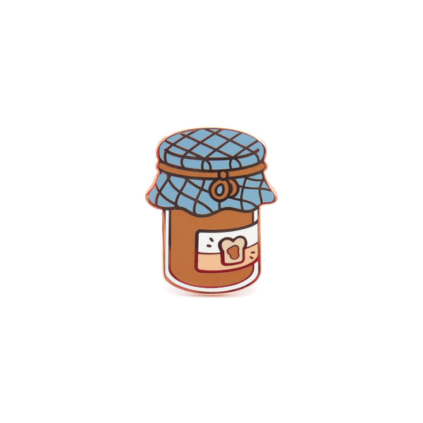 Hazelnut Spread Enamel Pin