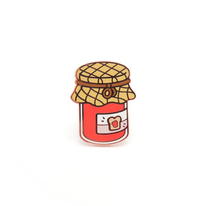 Strawberry Jam Enamel Pin