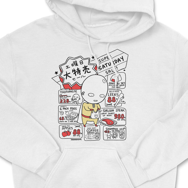 Saitama: Super Saturday Sale Hoodie