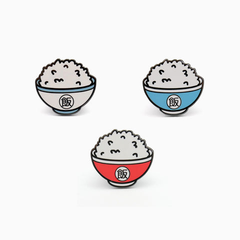 Rice Bowl Enamel Pin