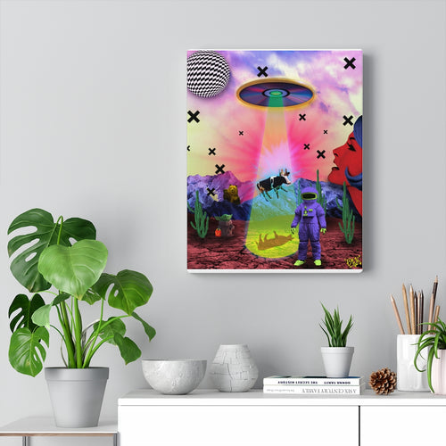 Big Disc Energy Canvas Print (11x14)