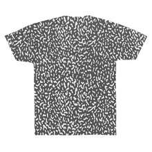 Elephant Skin (White on Dark Grey) Unisex AOP Sublimation Tee