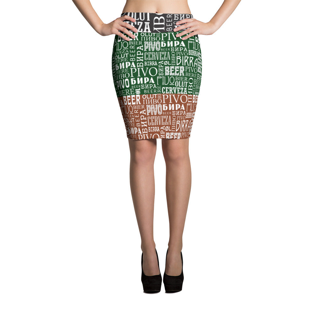 Say Beer? Pencil Skirt