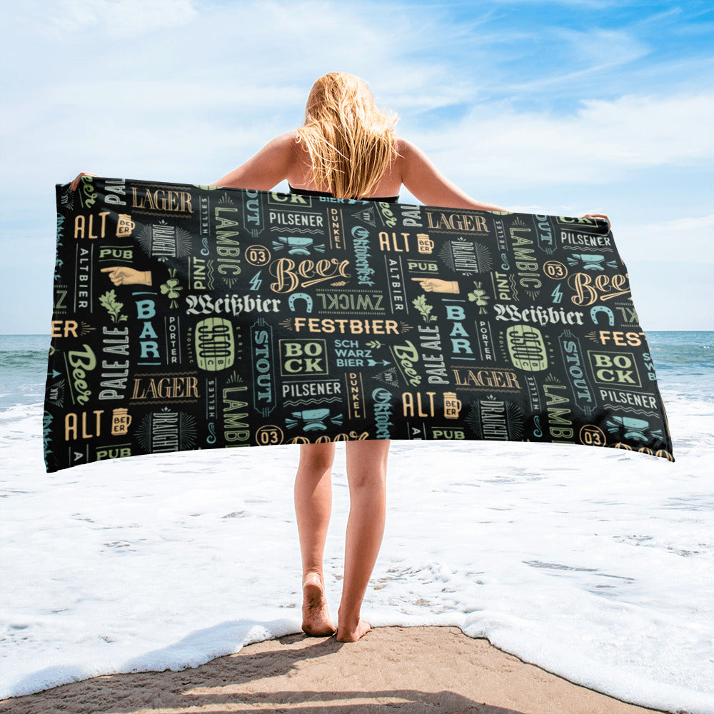 Alt Beer Towel