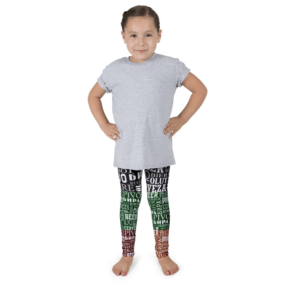 Say Beer? Kid's leggings