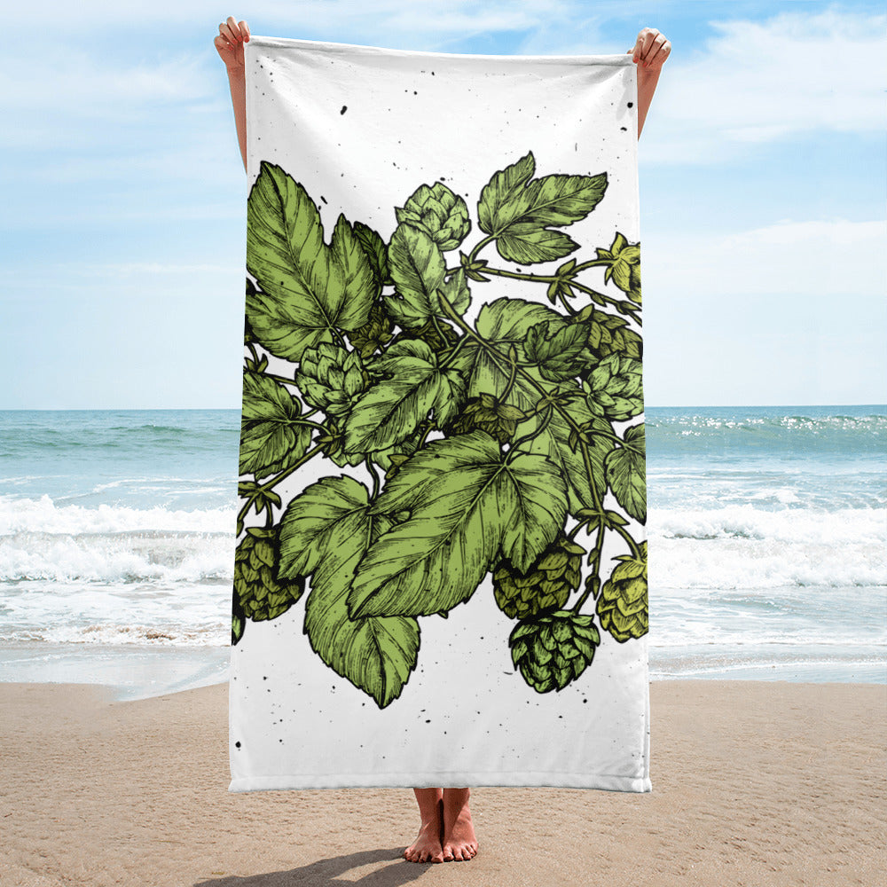 Hop Leaf Towel