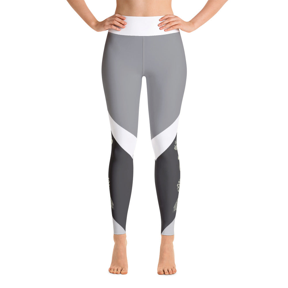 Cream Ale Yoga Leggings
