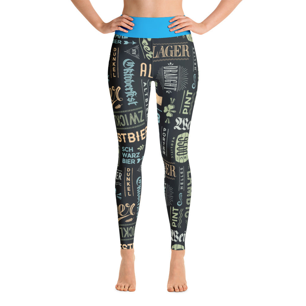 Alt Beer Yoga Leggings