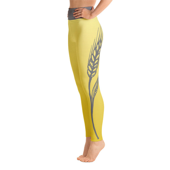 Hefeweizen Yoga Leggings