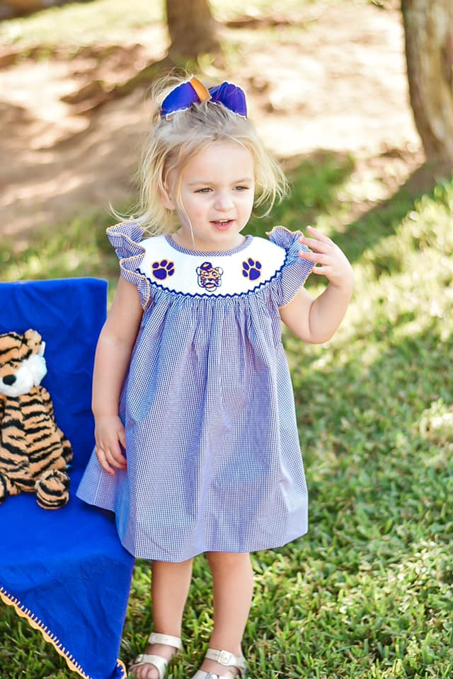 girls tiger bloomer set